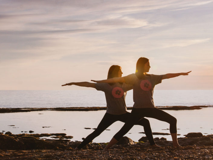 Commercial photography yoga