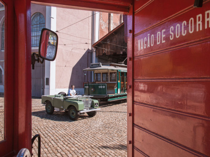 Land Rover Series One in Porto Portugal